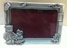 WHOLESALE... Doctor Bear Pewter Picture Frames  (Lot of 10)
