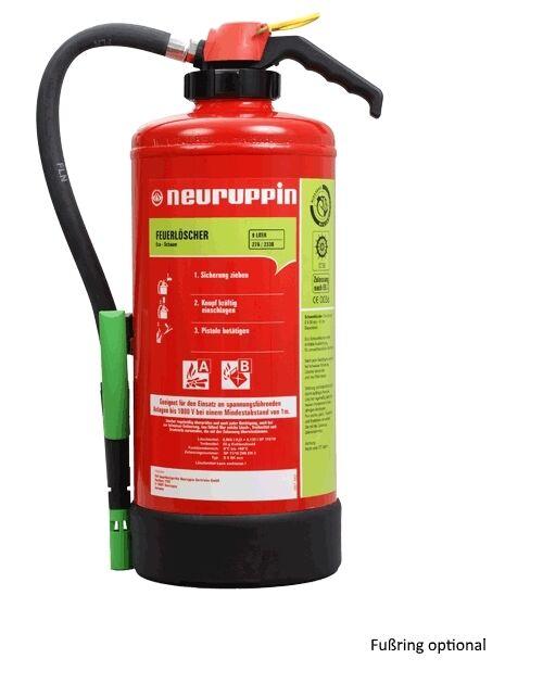 Feuerlöscher 9Liter Schaum S9 SK eco Neuruppin 27A 233B 9LE Aufladelöscher