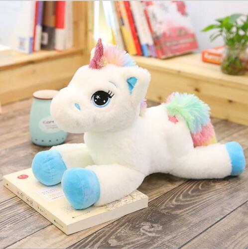 Ins Hot unicorn doll cute plush toy girl Stuffed animal Toy pony sleeping pillow