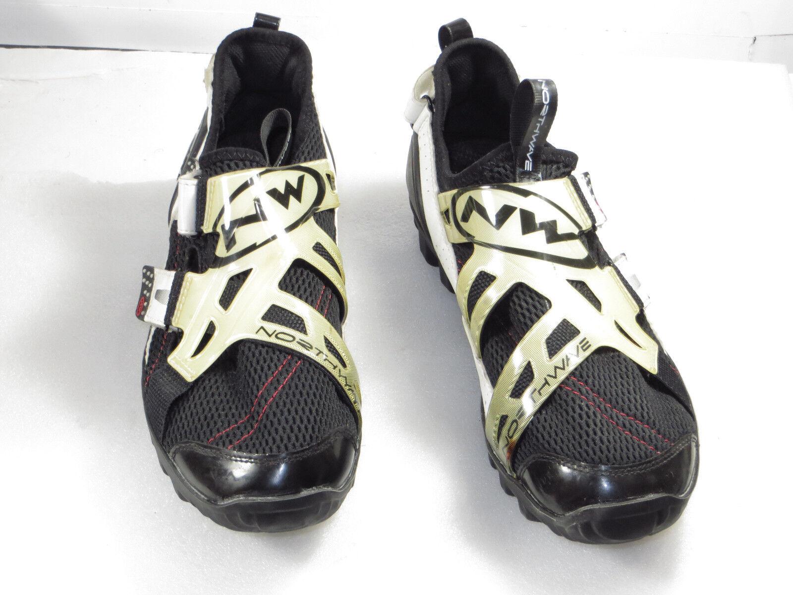 Super Men's NORTHWAVE bike shoe mesh,easy strap size 8.5 M  149
