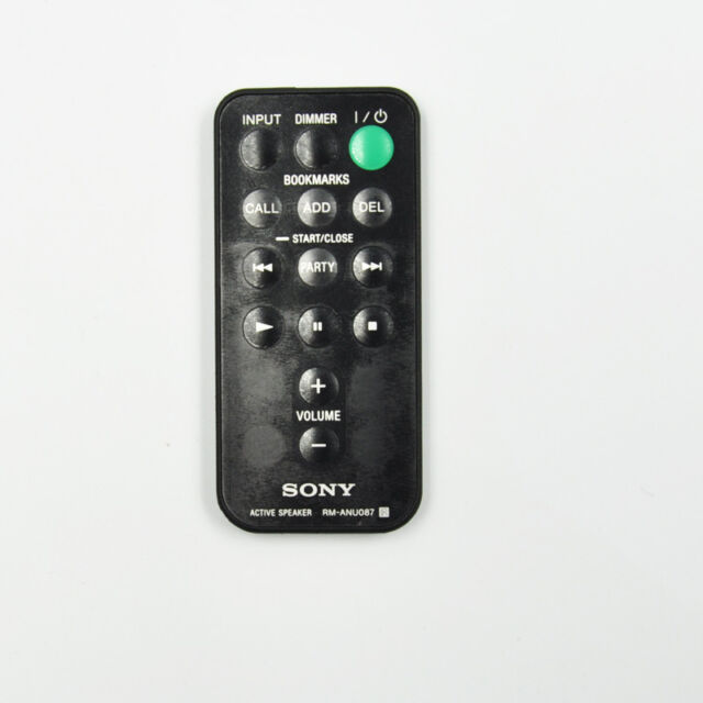 RM-ANU087 Remote Control For Sony Active Speaker SA-NS300