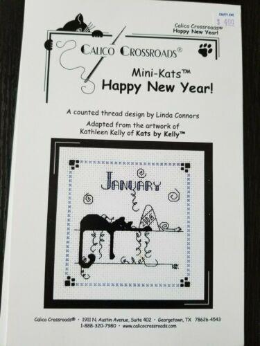 OOP Calico Crossroads Mini-Kats Monthly Charts YOU CHOOSE