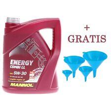 MANNOL Energy Combi LL 4L  5W-30 + GRATIS 4 tlg. Trichter Set