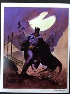BATMAN-DEATH-VALLEY-Killer-DC-Superhero-SIGNED-Print-by-Mike-Hoffman
