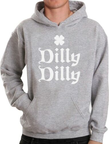 Patrick/'s Day Hoodie Gift Idea Dilly Dilly Clover ST