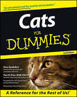 Cats for Dummies by Gina Spadafori, Paul D. Pion (Paperback, 2000)