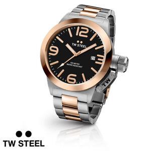 TW-Steel-CB131-Canteen-Bracelet-45mm-10-ATM-Armband-Uhr-Herren-NEU