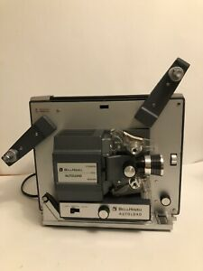Vintage-Bell-amp-Howell-Autoload-Model-357B-Super-8-Film-Movie-Projector-W-Box