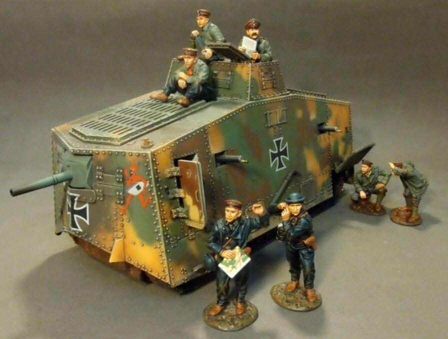 JOHN JENKINS DESIGNS WW1 THE GREAT WAR GWG-05 GERMAN TANK TANK TANK CREW MIB ea8219