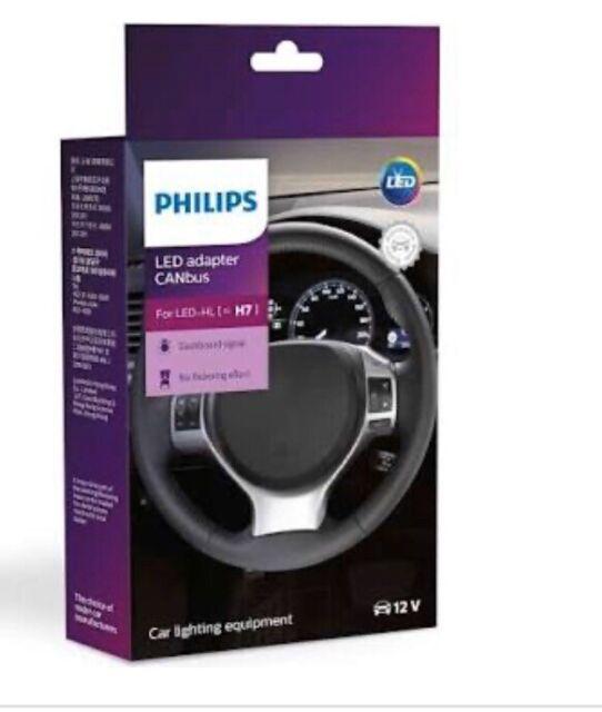 1 Pair Philips H7 CANbus adaptor LED 18952C2