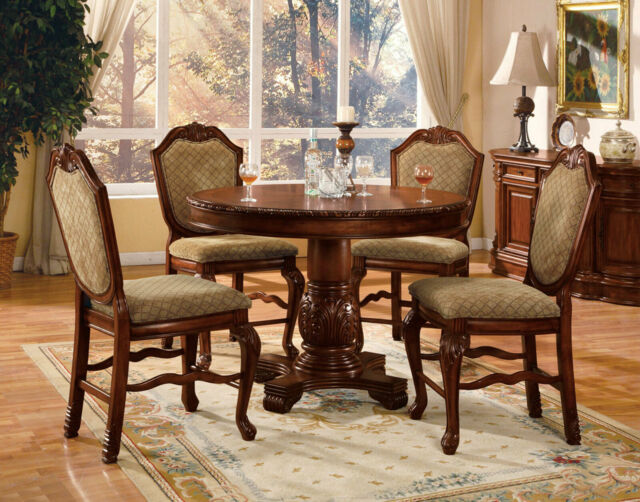 Mainstays 5 Piece Counter Height Dining Set Black Finish