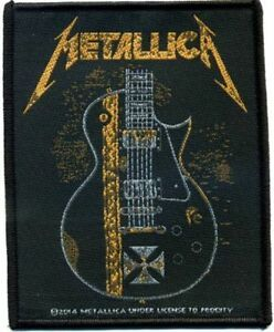 Metallica-034-Hetfield-Guitar-034-Parche-parche-602453