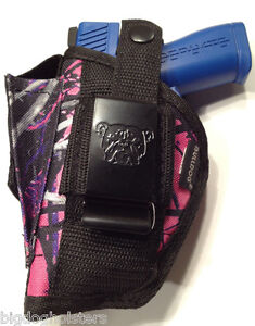Details about Muddy Girl Gun Holster Beretta Nano Bulldog Purple Pink GUN  RANGE ACCESSORIES