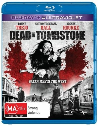 1 of 1 - Dead In Tombstone (Blu-ray, 2013) VGC Pre-owned (D85)