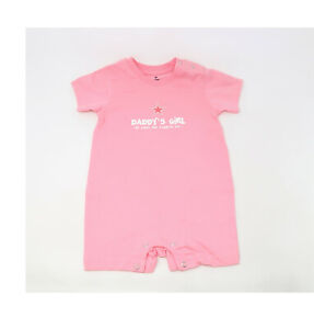 REEBOK Toddlers Infants Tops Shirts Daddy/'s Girl Romper Pink Dallas Cowboys