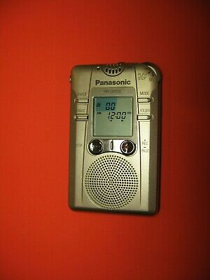 Panasonic Digital Ic Recorder Evp Ghost Hunt Extremely Rare Can Use With Rr Dr60 Ebay