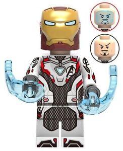 Tony Stark Endgame Custom Lego Mini Figure Iron Man Marvel Avengers Downey Jr