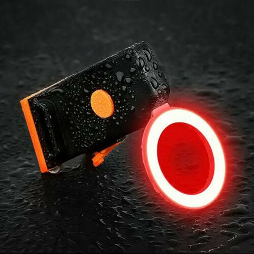 LED Bicycle Bike Cycling Front Rear Tail Light USB Rechargeable Safety COB Lamp