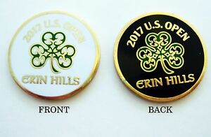 2017-US-OPEN-ERIN-HILLS-CC-DOUBLE-SIDED-LARGE-BALL-MARKER-BROOKS-KOEPKA