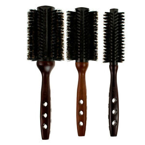 how to clean a round boar bristle hair brush