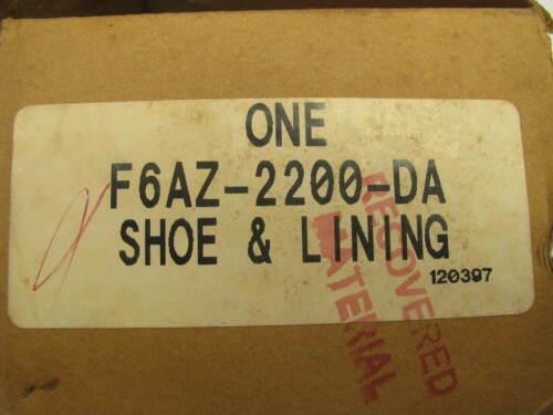 POLICE INTERCEPTOR PACKAGE ONLY Ford F6AZ-2200-DA REAR Disc Brake Pads
