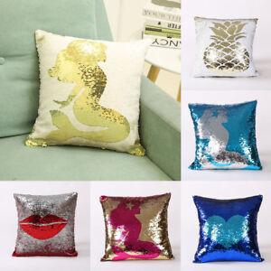 16-034-Reversible-Mermaid-Pillow-Sequin-Cover-Glitter-Sofa-Cushion-Case-Home-Decor