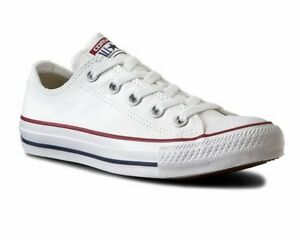 Details about Mens Converse All Star Ox M7652C Canvas Womens Trainers Optic  White Shoes- show original title