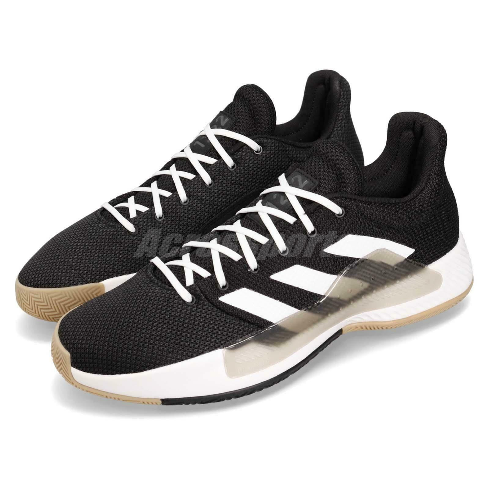 Adidas Pro Bounce Madness Low 2019 Black White Grey Men Basketball shoes BB9280