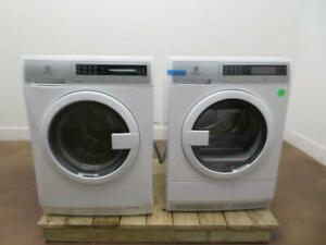 "Electrolux 24"" Steam Washer EFLS210TIW & Ventless Electric Dryer EFDE210TIW Pics"