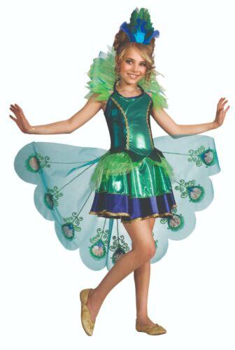 Pfau Mädchen Kostüm Peacock Gr.3-7 Jahre Minikleid 2887098 Tänzerin
