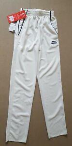 Slazenger-Boy-039-s-White-Cricket-Clothing-Trousers-11-12-Years