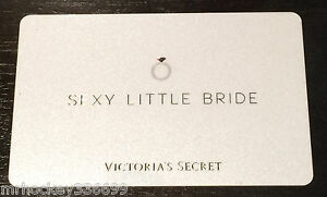 Victorias secret canada sexy little bride collectible gift card image is loading victoria 039 s secret canada sexy little bride negle Gallery