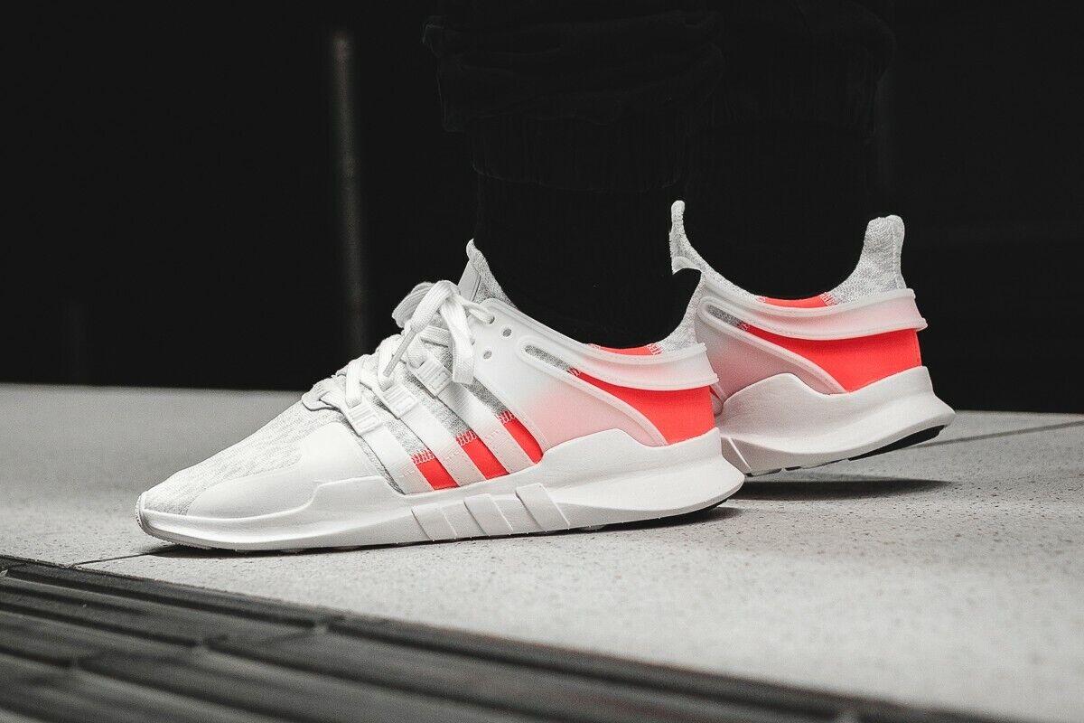 Adidas Originals EQT Support ADV Primeknit Mens 13 shoes White Turbo Pink BB2791