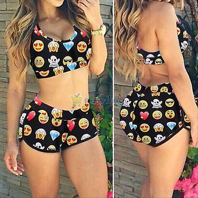 Sexy Women's Swimwear Bikini Set Bandage Push Up Bra Padded Swimsuit Beachwear