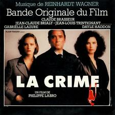 Reinhardt Wagner ‎La Crime (Bande Originale Du Film) FRENCH OST LP SEALED LABRO