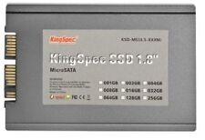 """KingSpec 128GB 1.8"""" MicroSATA Micro SATA SSD for HP 2530P 2730P Dell E4200 E4300"""