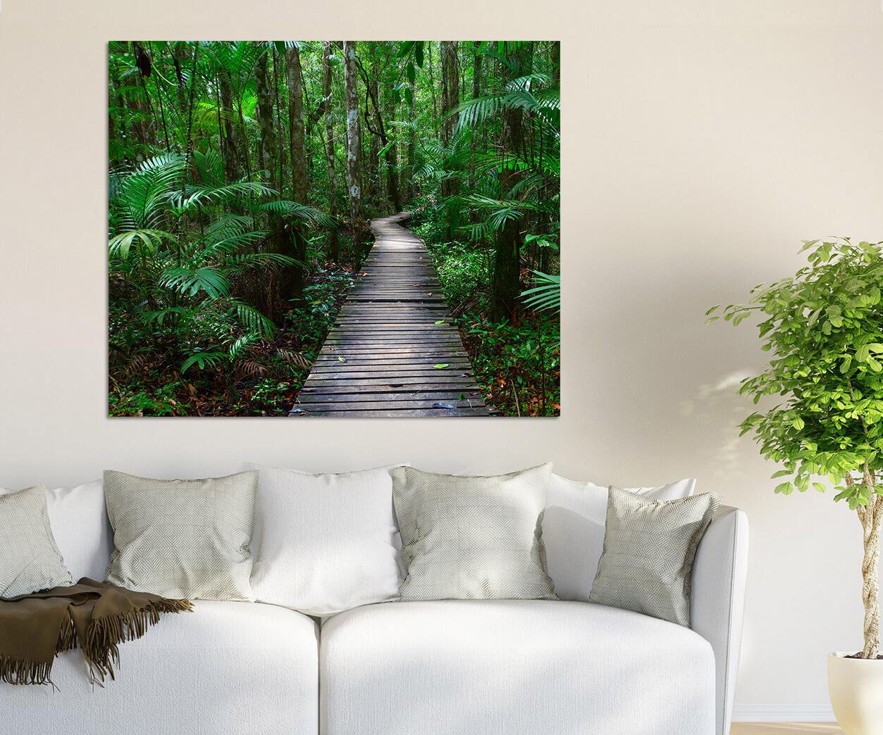 3D greene Wälder 387 Wandbild Fototapete BildTapete Familie AJSTORE DE