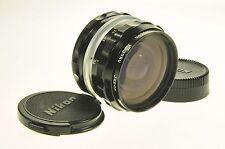 Nikon Nikkor 28mm F3.5 H Auto Camera Lens
