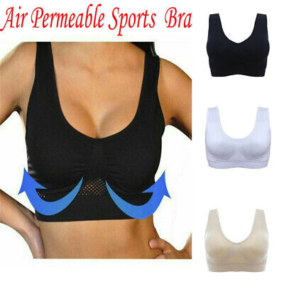 3er Set Damen Comfort BH Seamless Nahtlos Bustier Sport Push Up Bra Fitness Yoga