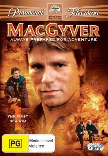 1 of 1 - MacGyver : Season 1 (DVD, 2006, 6-Disc Set)