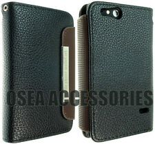 Per SONY XPERIA GO ST27i Luxury Custodia in PELLE WALLET COVER BOOK CUSTODIA Back Flip
