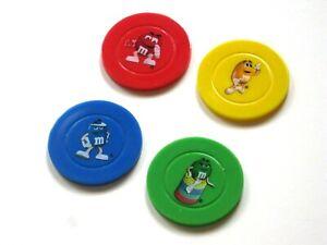 M-amp-M-039-s-Poker-Chips-Set-of-4
