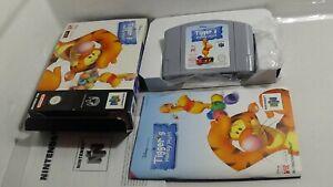 Tigger's honey Hunt-completamente/embalaje original Nintendo 64 n64