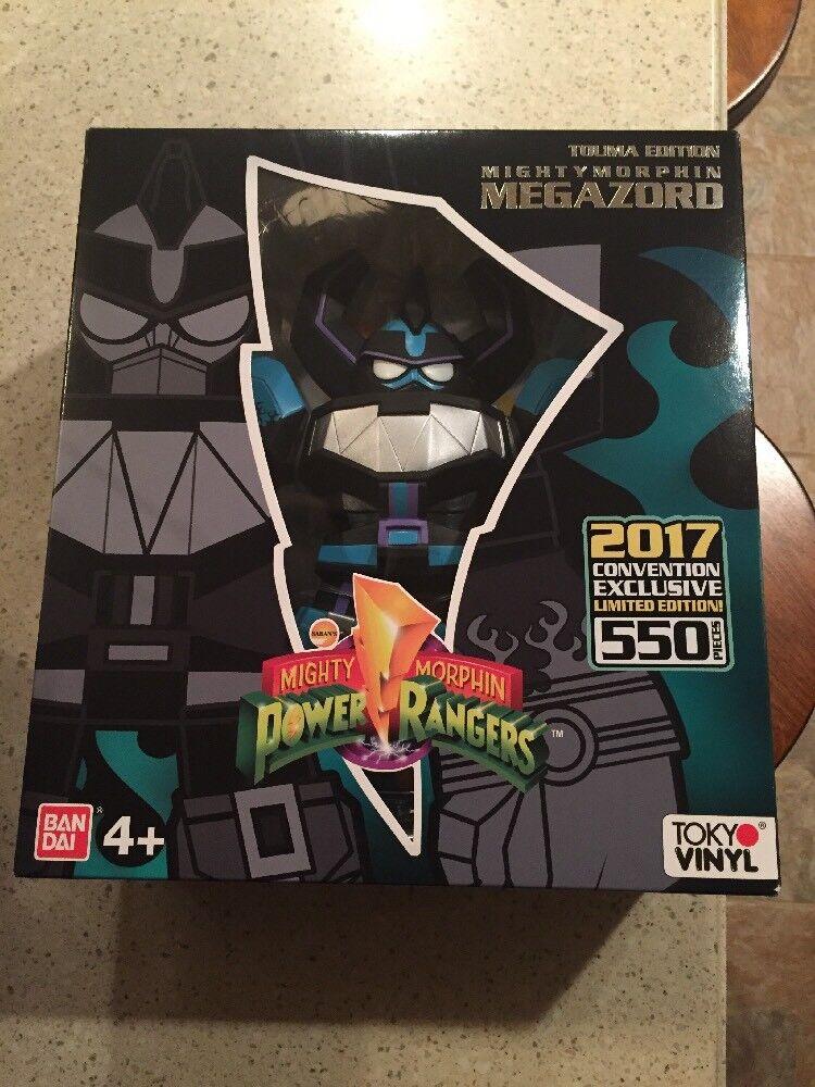 NYCC 2018 Comic Con Exclusive Power Rangers Tokyo Vinilo Megazord Touma Edición
