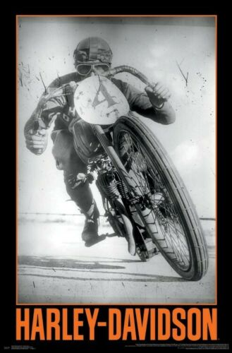 Harley-Davidson Motorcycles HISTORIC RACER Official WALL POSTER
