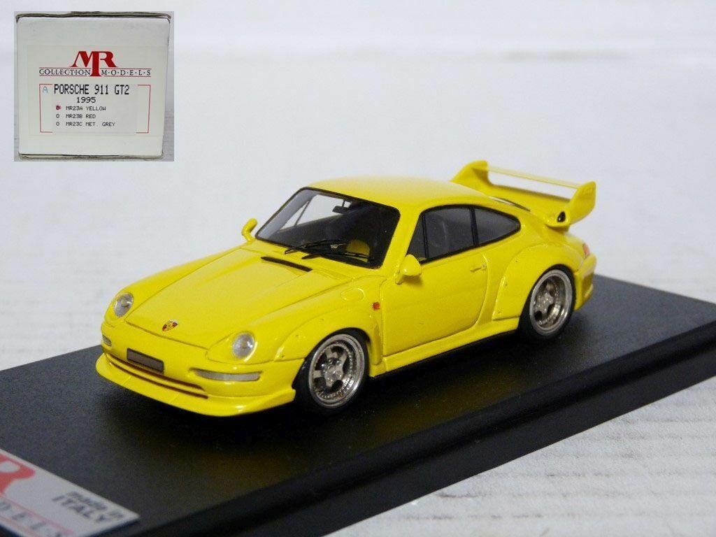 Monsieur MR23A 1 43 1995 PORSCHE 911 GT2 fait main en résine voiture modèle