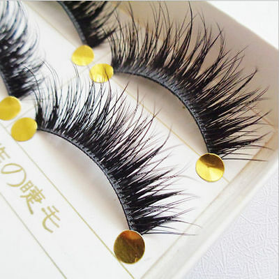 New Long 5 Pairs Makeup Beauty False Eyelashes Thick Cross Eye Lashes Extension
