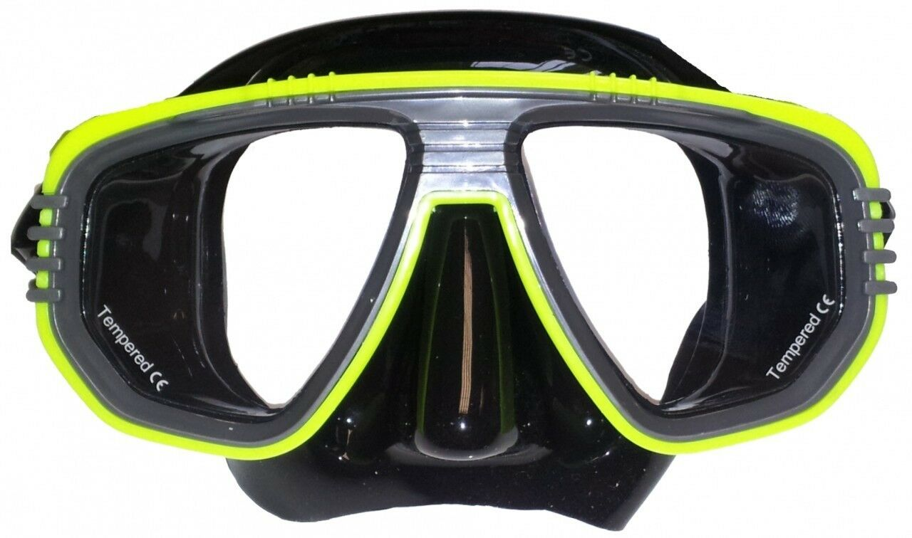 Discovery Silicone Twin Lens Mask. Colour Choice