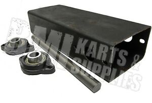 Details about Motor Mount Plate with Jackshaft and Bearings for Go Kart  Carts Parts Supplies