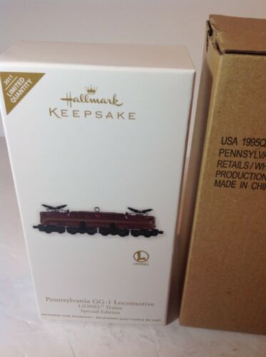 Hallmark 2011 Lionel Pennsylvania GG-1 Locomotive Ltd  Qty NIB Mint